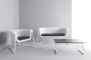 hover white sofa soft furnishing office interiors