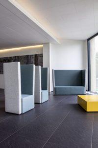 hussar high back soft furnishing breakout furniture office interiors